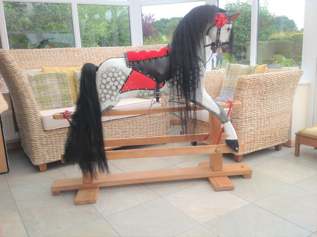 Traditional Rocking Horse By Collinsons Extra Large