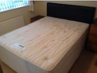 Sealy King Size Bed.