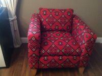 Ex display designer armchair