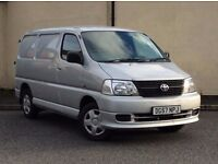 2007 Toyota Hi-Ace 2.5 D-4D 280 Silver Van **One owner from new, Toyota service history**
