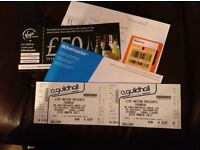 2 Thunder Southampton O2 Guildhall Concert Tickets - Saturday 25th March