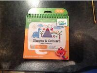 Leap start book level 1 pre school, shapes & colours