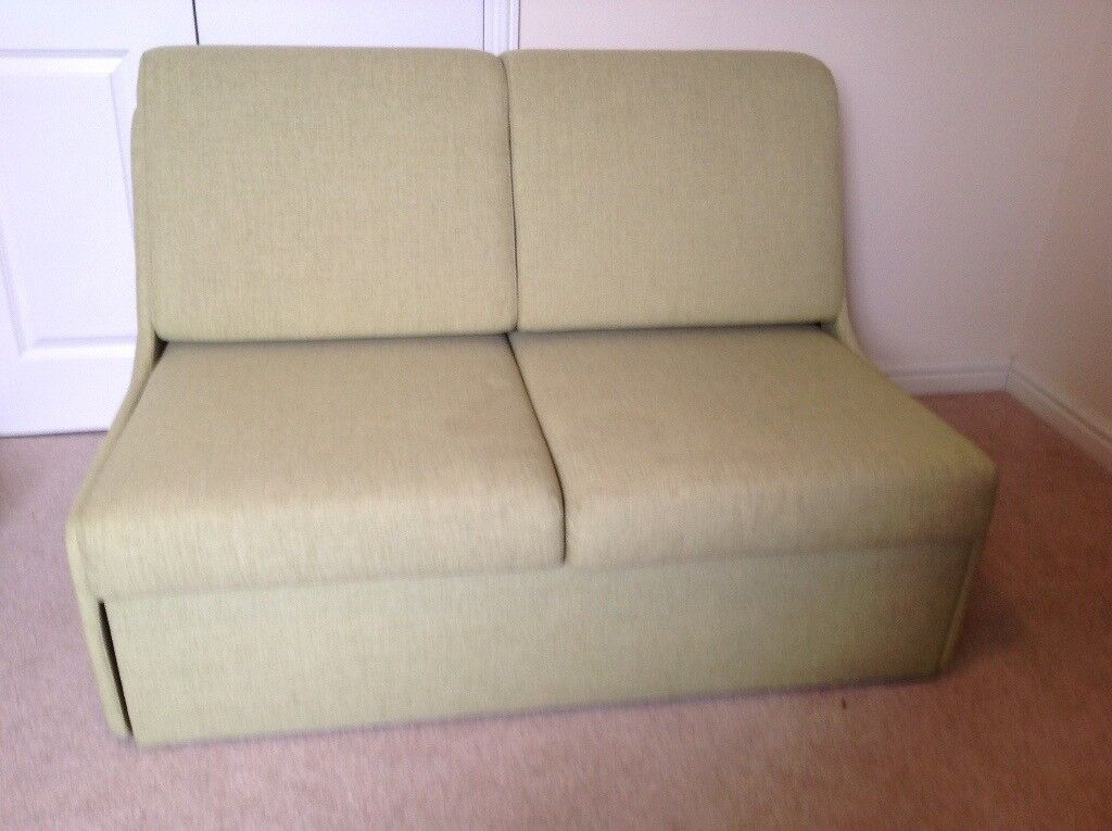 John Lewis Compact Light Green Sofa Bed Great Condition