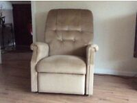 Electric riser / reclining chair.Excellent as new condition.