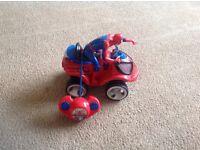Spider-Man remote control quad