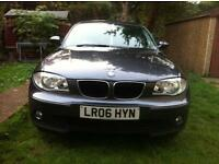 BMW 1 Series 2006 2.00 Diesel TDI 5 Door Bright Grey HPI Clear. Full Service History.