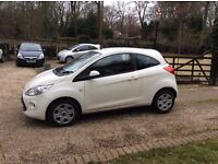 Ford Ka 1.2 2011 white LOVELY FIRST CAR OR UPGRADE EA11JVM