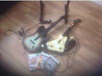 Guitar Hero mega bundle for XBox 360. £50