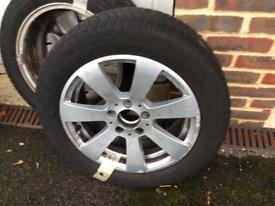 4 Michelin Winter Tyres & Alloys