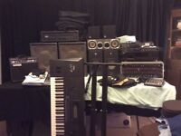 RECORDING STUDIO CLEARANCE Equipment including Behringer, Tascam, Alesis, Denon, Yamaha Synth