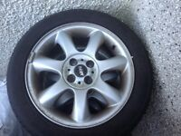 Mini Cooper Alloy Wheels x 4