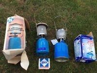 Gas Camping Lanterns x 2 (Price per lantern £8)