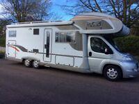 Motorhome hire/camper/rental 6/7 berths