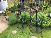 Pair of Tiered Planting Baskets