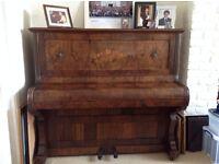 Beautiful antique W T Payne Piano.