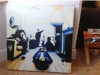 Oasis definitely maybe album cover painting (feel free to view)