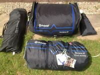 Outwell Montana 6p tent and front extension.