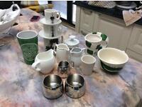 Milk jugs/sugar bowls/mugs etc