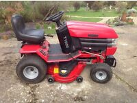 Westwood T1600 Ride On Lawn Mower with Powered Grass Catcher