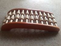 Wooden roller back stretcher/ massager. Collection from Crowland.