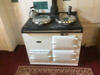 Aga gc 2 oven range for sale converted to gas