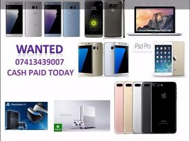 WANTED # IPHONE 7 PLUS IPHONE 7 6S 6 SAMSUNG S7 EDGE S7 S6 # CASH TODAY # COLLECT WITHIN 1 HOUR #