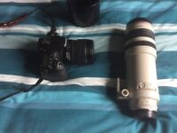 canon 100-400 lens for sale , small mark on body