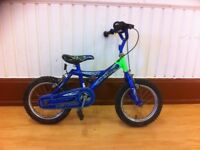 """Boys bike - fully refurbished Meteor bike - 14"""" wheels, (4-5 years)"""