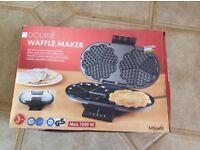 Waffle maker.