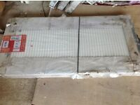 1400 X 700 QUINN DOUBLE RADIATOR - STILL WRAPPED NEVER USED (VERY HEAVY)