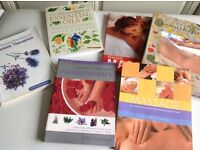 Massage, Holistic Therapy & Aromatherapy Books, suit student