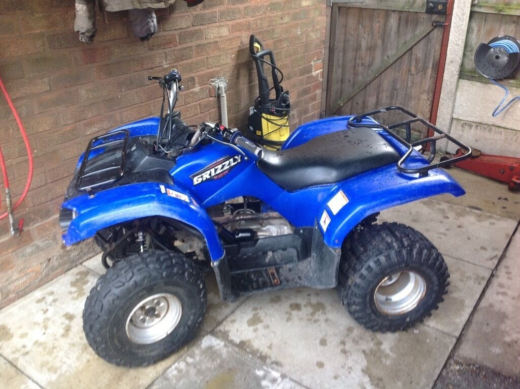yamaha grizzly 125cc atv in st helens merseyside gumtree. Black Bedroom Furniture Sets. Home Design Ideas
