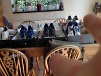 Various football boots from my son who has now retired !