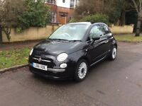 Fiat 500 Lounge with only 18000 miles from new and 1 years Full M.O.T. 1 owner from new.