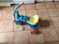 Toddler bike tricycle