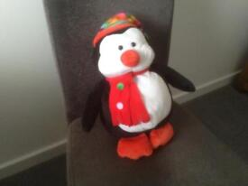 A PENGUIN SOFT CUDDLY TOY