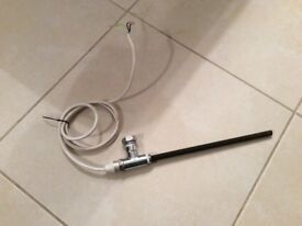 Heating element from a towel rail - used