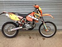 Ktm 525 exc racing 2004 model ,very low hours and milage