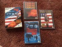 Set of 3 war films on dvd