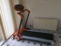 Body sculpture motorized treadmill, 7 months of warranty left, got receipt