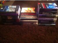 22 EDUCATIONAL LAW BOOKS FOR UNIVERSITY (Criminal Law, Tort Law, Q&A Books,Land Law ect)