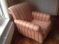 Quality upholstered armchair