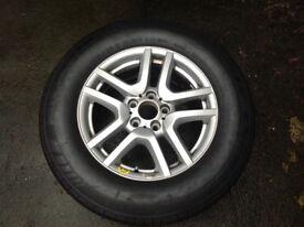 Michelin 235 65 r17 brand new on bmw alloy