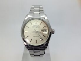 100% GENUINE VINTAGE ROLEX OYSTER AIR KING RARE DATE PERPETUAL MODEL 5700 STAINLESS STEEL