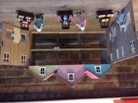 Dolls House Shop Front Set
