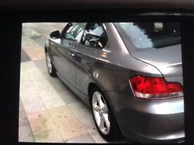 BMW 1-Series coup turbo 120d (barging)