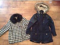 X2 girl coats