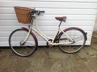 pashley bicycle. 5yrs old but hardly used. Quick sale £200. Collect only .