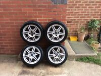 4 Ford Focus Alloy Wheels