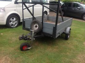 6x4 trailer with full electrics
